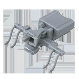 MICROACE 383系のマイクロカプラーをKATOカプラー密連形に交換した。