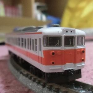 TOMIX 113系関西線快速色の車間を短縮してみた。