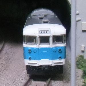 TOMIX 113系阪和色の車間を短縮してみた。