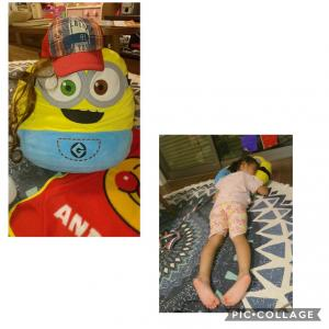 4歳の笑える『ごっこ』遊び