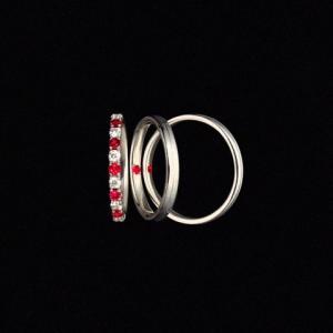 ルビーとダイヤモンドで永遠の愛… モリスブライダル