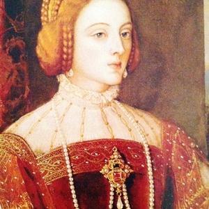 亡くなった後に描かれた…「美しいイザベル王妃」の肖像画のルビーをみて