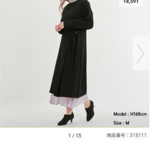 【GU】☆お値段二度見のプリーツスカートとワンピース♪