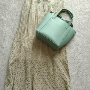 【GU】で思わずポチったスカートとバッグ☆