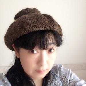 【新作】 お団子ベレー帽