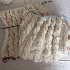 【GWミッション】4日目~7日でセーターを完成せよ!