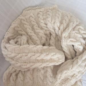 【GWミッション】完成~7日でセーターを完成せよ!