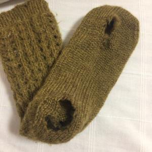 リサイクル毛糸の使い方は・・・