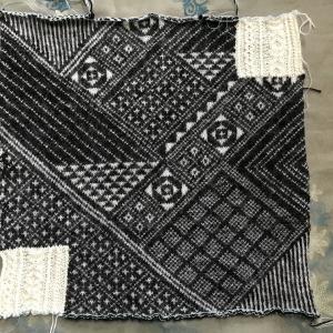 一応パーツ編みあがりました