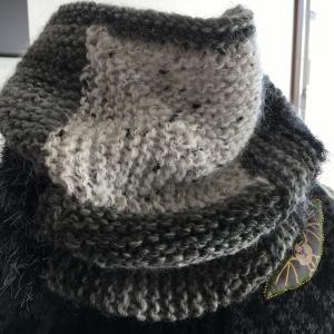 ドミノ編みにはまりすぎて