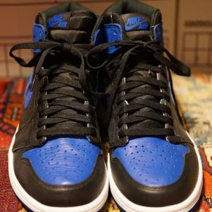 NIKE AIR JORDAN 1 RETRO HIGH OG ROYAL 2017