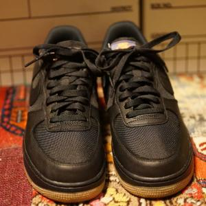 NIKE AIR FORCE 1 LOW GORE-TEX BLACK