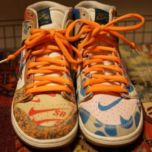 NIKE SB ZOOM DUNK HIGH × THOMAS CAMPBELL