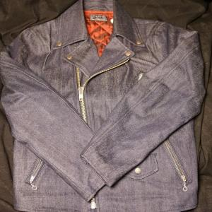 HOLLYWOOD RANCH MARKET ORIGINAL SERVIC MOTORCYCLE JACKET