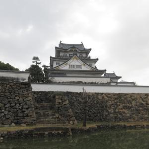 岸和田城に行きました。