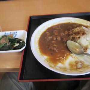 大阪のおちゃんらしい昼飯だ。