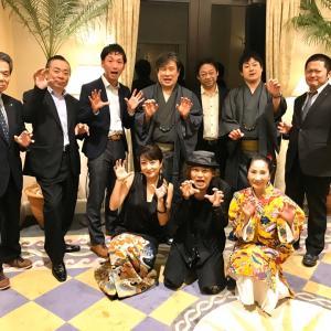 今年も京商さんの「ハイサイ沖縄」きものパーティーに出演させていただきました。