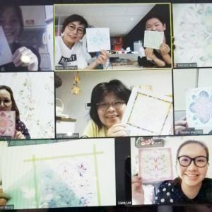 ●2月22日 業務日誌 『一花ichika』お絵描き会 開催しました。