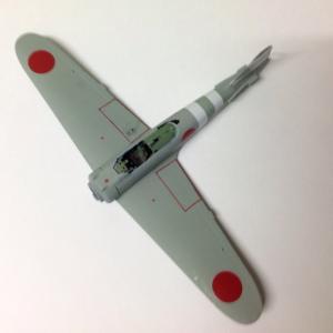 タミヤ 1/72 零戦二一型・製作中_No.3