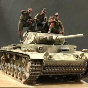 タミヤ III号戦車J型_Nr.9…