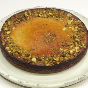 アーモンドとヨーグルトを使ったペルシャ風ケーキ