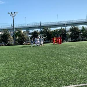 U13 TM vs かえつ有明中学校