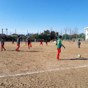 U13 Liga SWS  vsクラッキス松戸