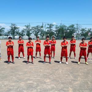 U15A U15L vs 足柄FC
