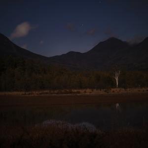 月明かりの小田代ヶ原