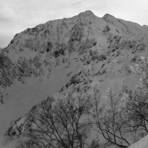 古い写真の整理から 鹿島槍ヶ岳と五竜岳