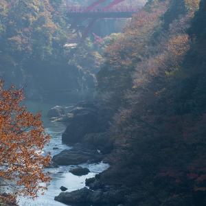 高津戸峡を歩く