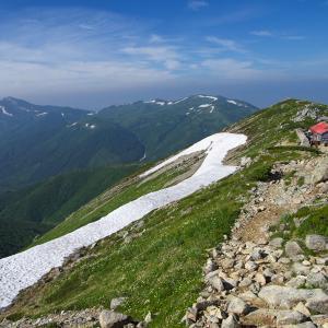 雲上の散歩道 薬師岳~黒毛五郎岳