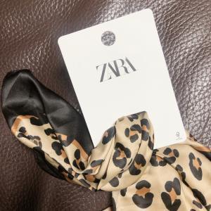 ZARAの大判スカーフで〜