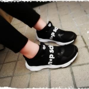 おNEW靴