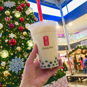 Gong cha を初めて飲む。