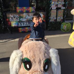 東武動物公園の遊園地エリア