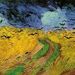 麦と死のイメージ