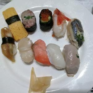 お寿司が熱い