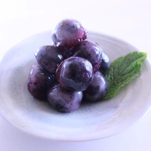 ブルーベリーの和菓子