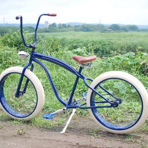 自転車 ペイント。