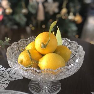 レモンを収穫しました。