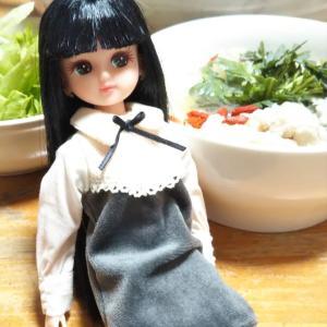 ドール飯 参鶏湯 サムゲタン☆吹き出物ができました泣