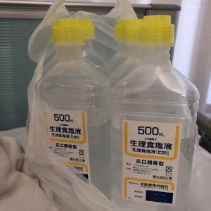 副鼻腔炎入院6日目 鼻呼吸0%