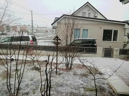外は雪 家の中はぬくぬく