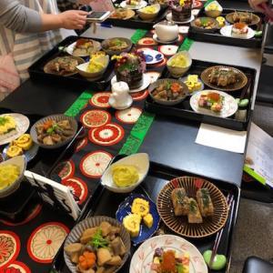 現代バージョンおせちと彩り押し寿司のレッスン開催中♪