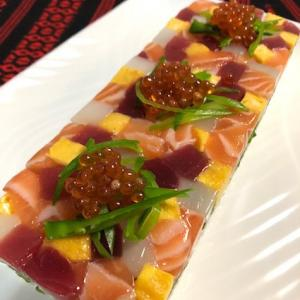 彩り押し寿司とおせちのレッスン、全日程終了です♪