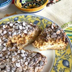 シチリア島のおばあちゃんの味「リコッタトルテ」のおもしろいパイ生地作り♪