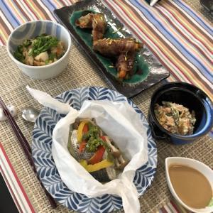春の和食!「照り焼きのタレ」と「ごまだれ」の展開料理レッスン、全日程終了♪