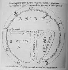 迷信とプトレマイオス地図、そしてTO図