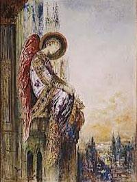 ギュスターヴ・モロー『旅する天使(The Migrant Angel)』